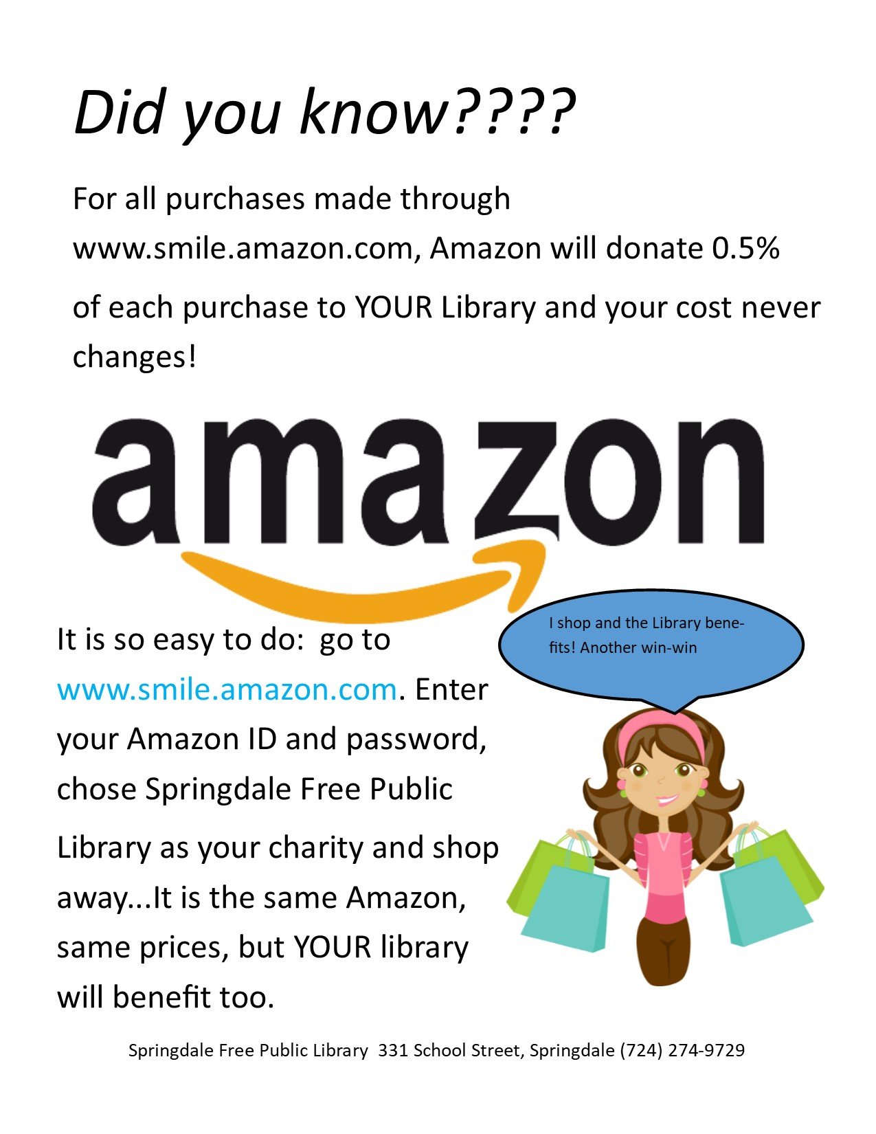 An Easy Way to Support YOUR Library