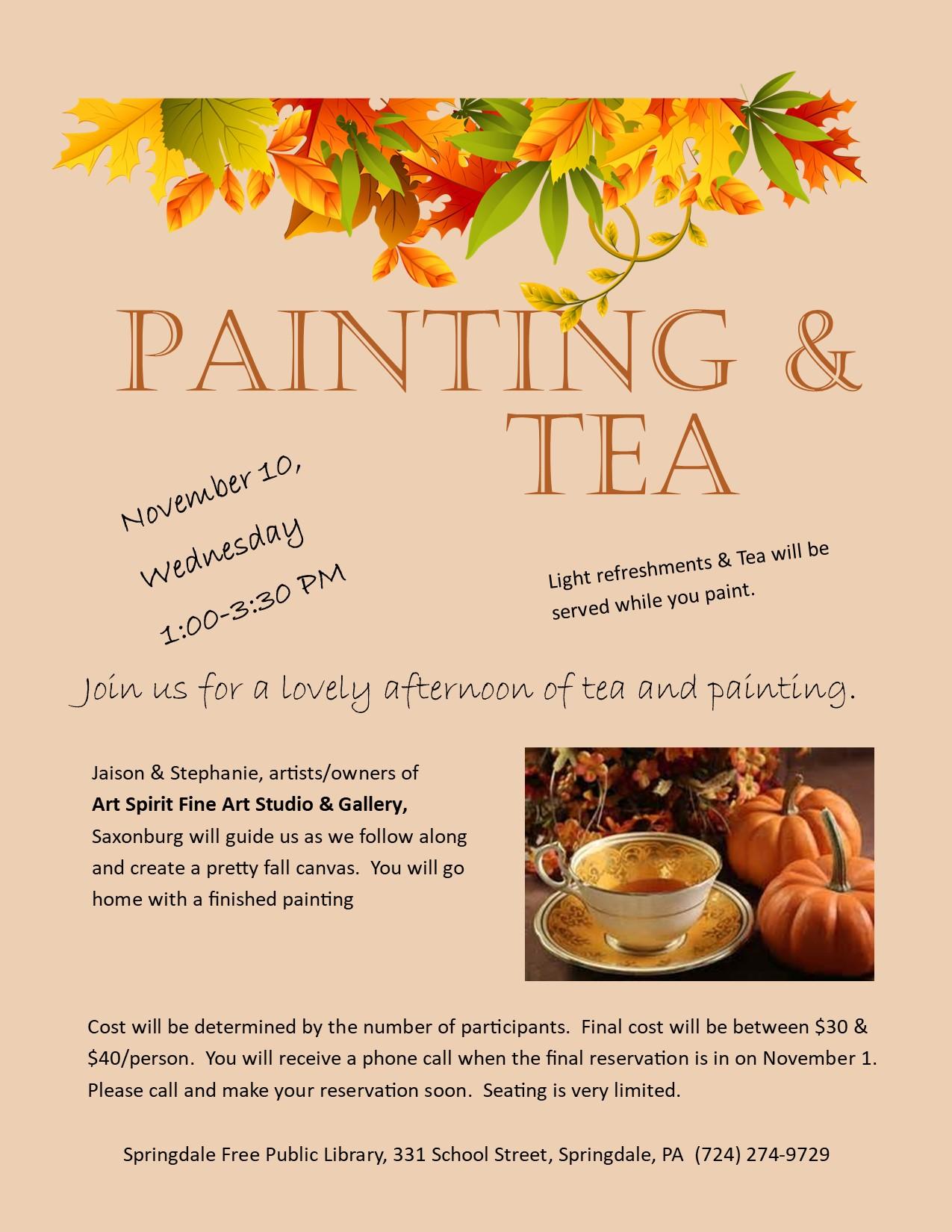 Paint & Tea