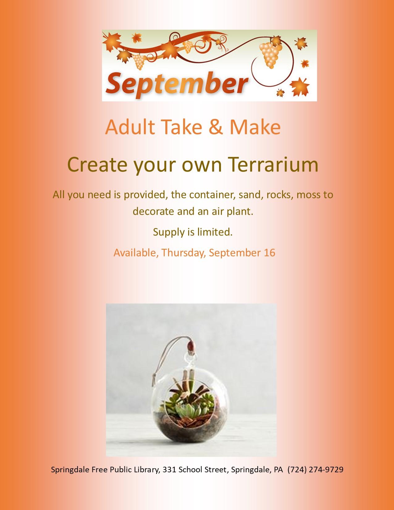 Adult Take & Make